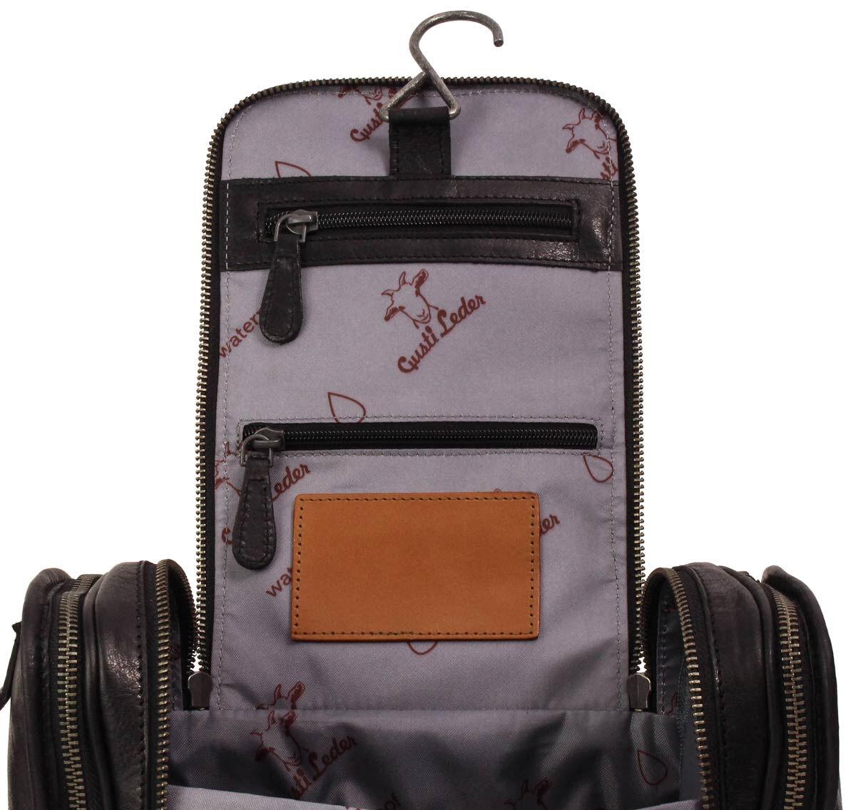 Outlet Kulturtasche – faltiges Leder – ansonsten neu – Siehe Video