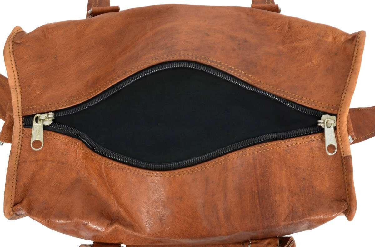 Outlet Umhängetasche - leichter Rost – kleinere Lederfehler - faltiges Leder - ansonsten neu – siehe