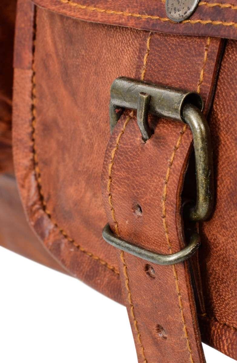 Outlet Reisetasche – faltiges Leder – kleine Farbunterschiede im Leder - kleinere Lederfehler - Kleb
