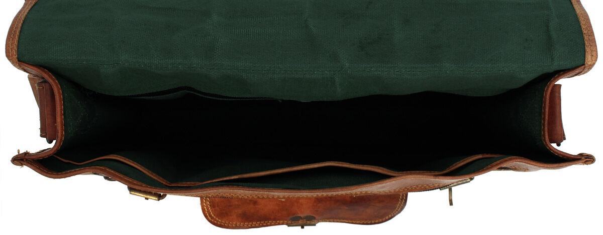 Outlet Umhängetasche - kleinere Lederfehler - leichter Rost - Leder leicht fettig – Verfärbungen – a