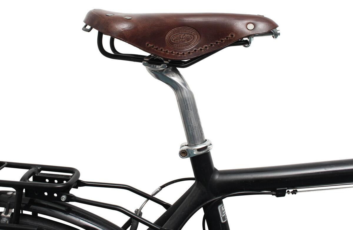 Outlet Fahrradsattel - kleinere Lederfehler - ansonsten neu - siehe Video