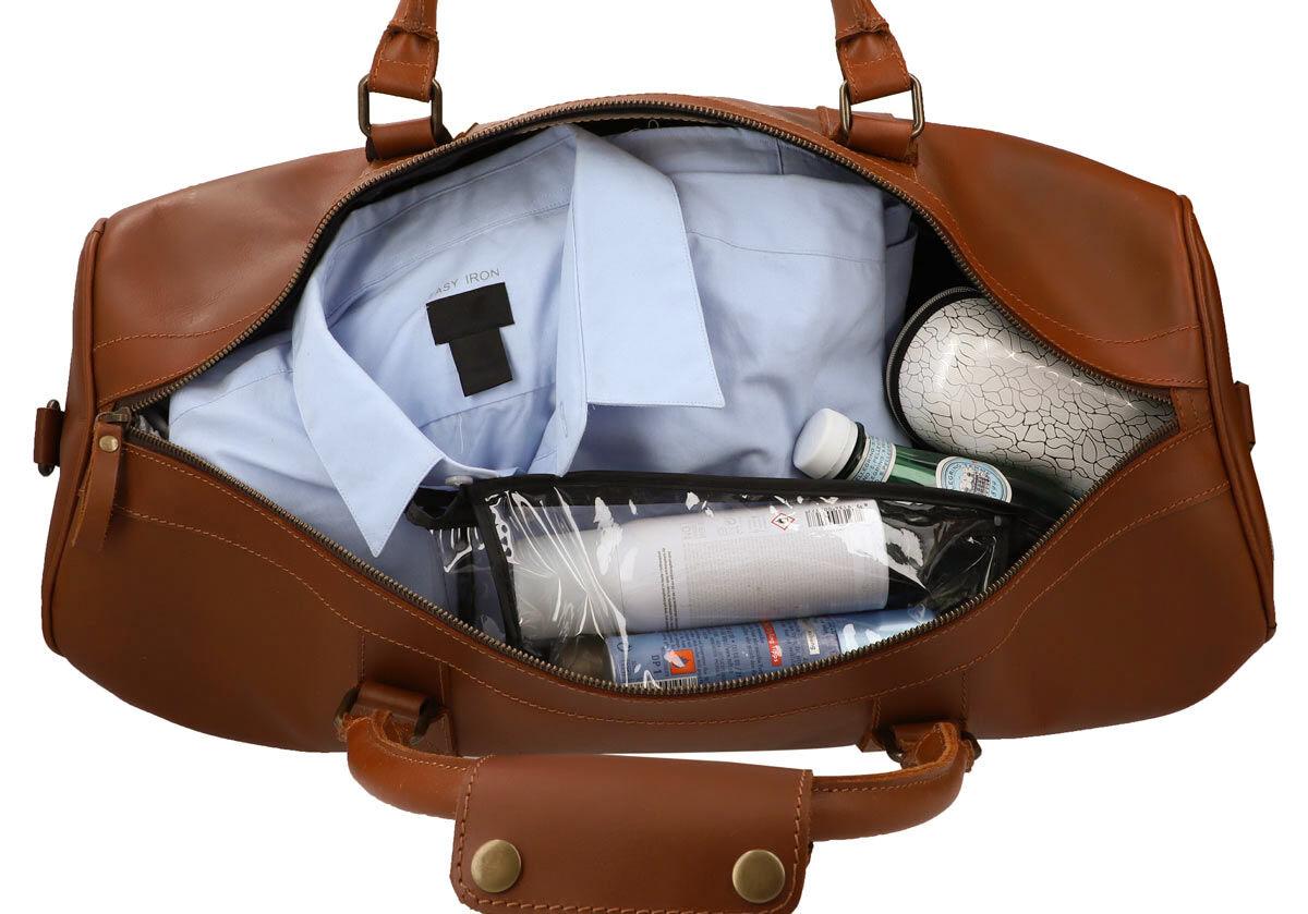 Outlet Reisetasche - kleinere Lederfehler – ansonsten neu - siehe Video