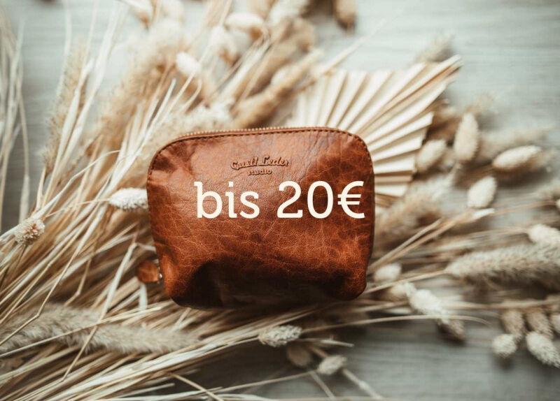 Geschenkideen bis 20€