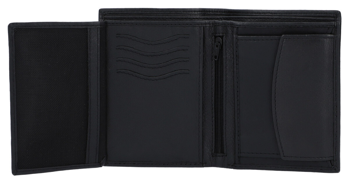 Outlet Portemonnaie - defekte Nähte - faltiges Leder - ansonsten neu - siehe Video