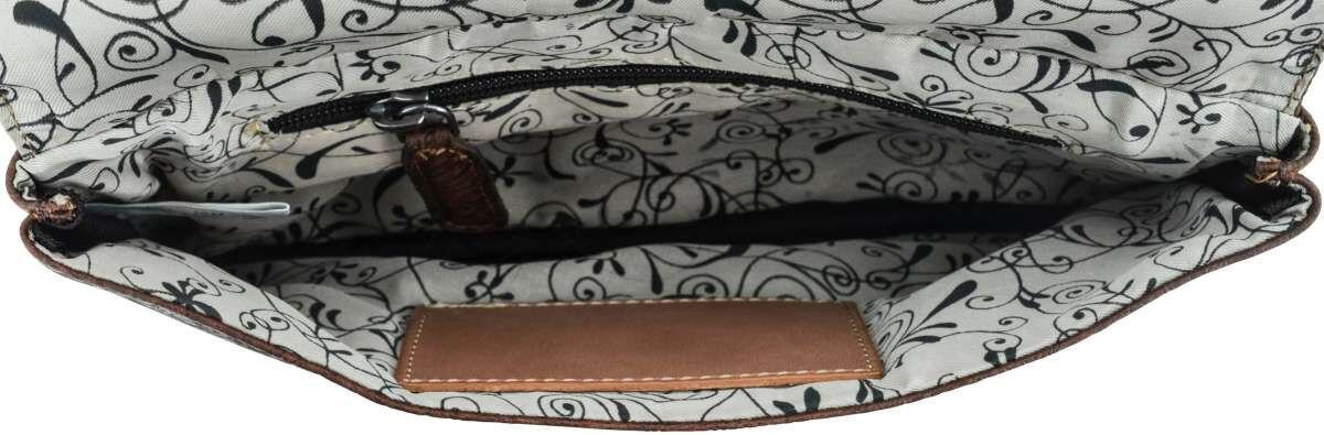 Outlet Handtasche - leichte Verfärbung - ansonsten neu - siehe Video