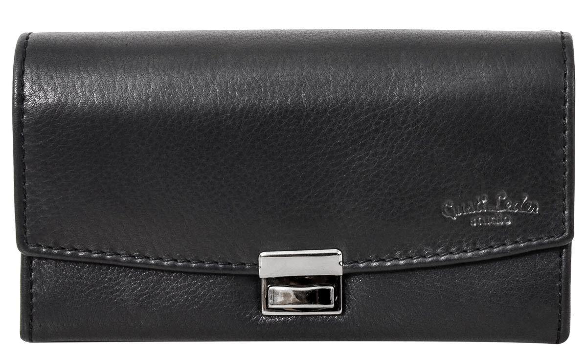 Outlet Portemonnaie - leicht eingerissenes Leder - kleiner Lederfehler - gebrauchter Zustand - siehe