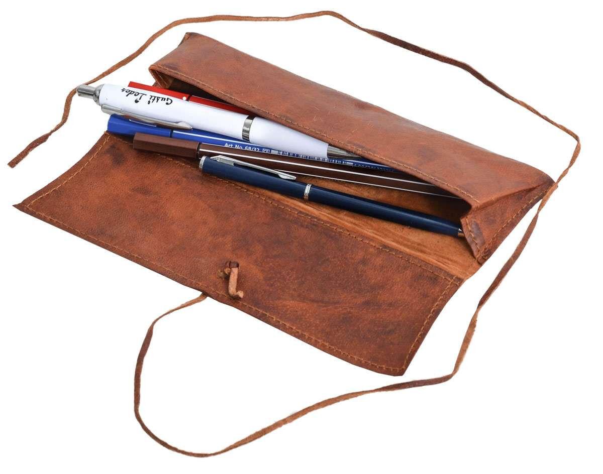 Outlet Stiftemappe - kleinere Lederfehler - ansonsten neu - siehe Video