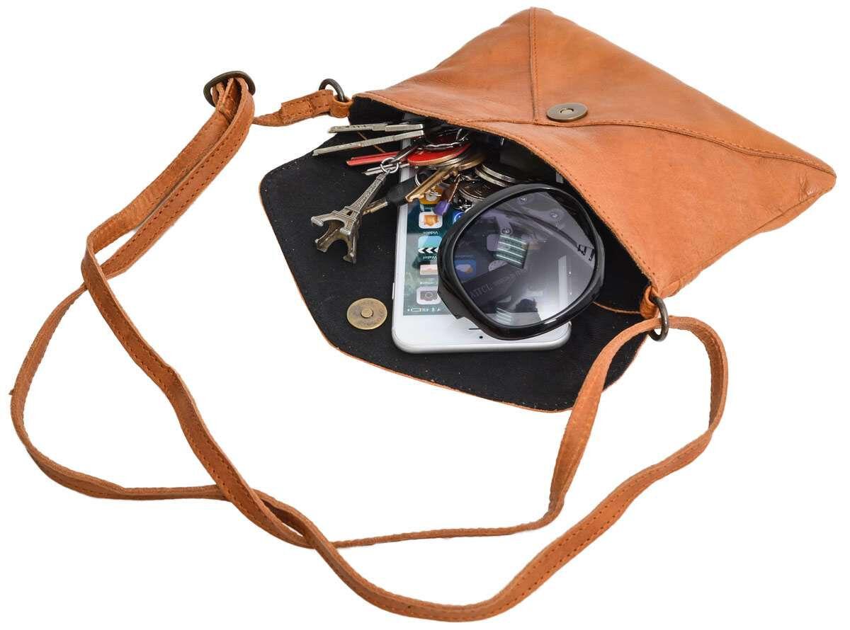 Outlet Umhängetasche – kleinere Lederfehler – faltiges Leder - ansonsten neu – Siehe Video
