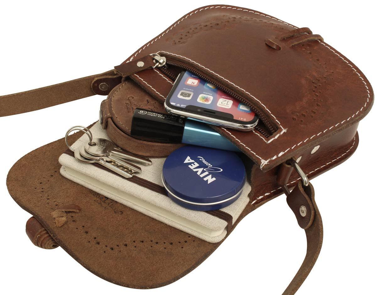 Outlet Handtasche - eines defekten Reißverschlusses – faltiges Leder – kleinere Lederfehler – anson