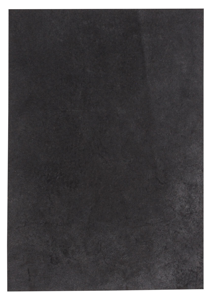 Black Leather Piece Buffalo Hide 100% Natural