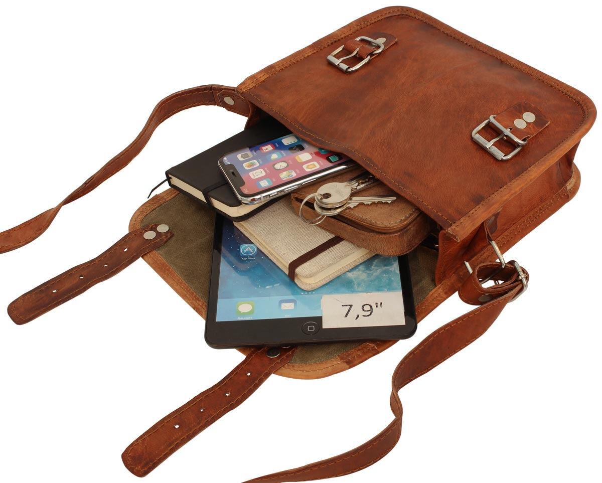 Outlet Handtasche - Leder leicht fettig – Verfärbungen - kleinere Lederfehler – Klebereste - Leder l