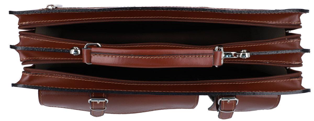 Outlet Aktentasche - kleinere Lederfehler -Schultergurt fehlt - ansonsten neu - siehe Video