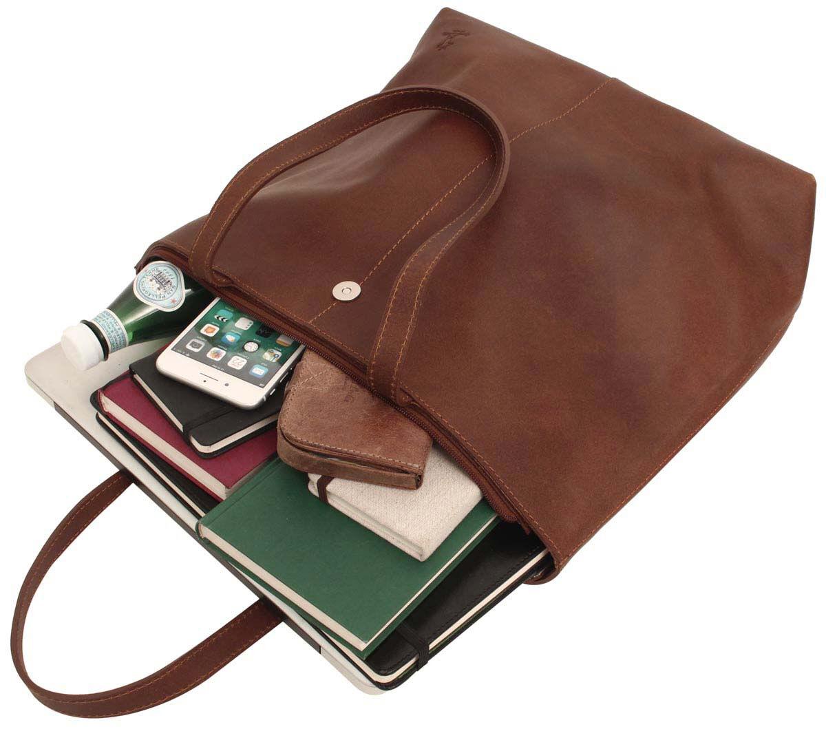 Outlet Handtasche – Verfärbungen – kleinere Lederfehler - ansonsten neu – siehe Video