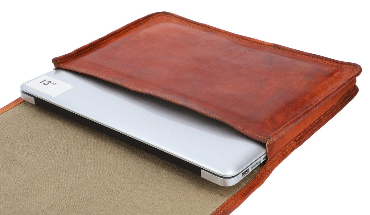 Outlet Laptoptasche - Innenfutter leicht beschädigt - Klebespuren im Innenfutter – ansonsten neu –