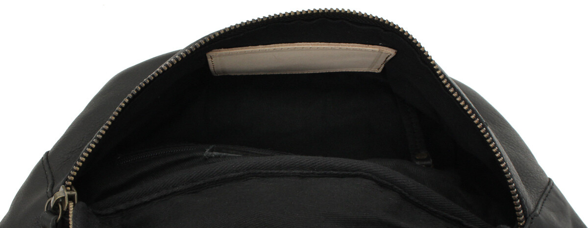 Outlet Bauchtasche - kleinere Lederfehler – Verfärbungen - ansonsten neu – siehe Video