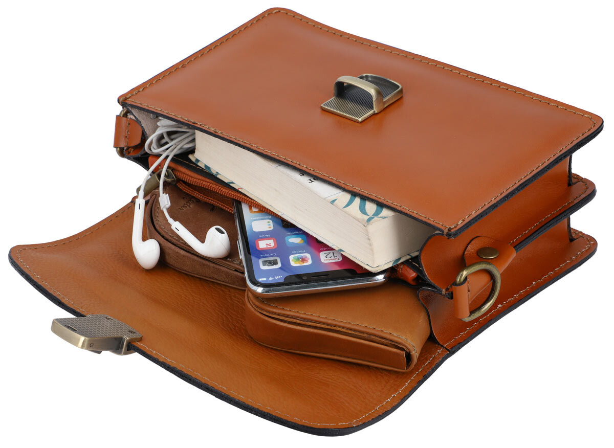 Outlet Handtasche - kleinere Lederfehler – ansonsten neu – siehe Video