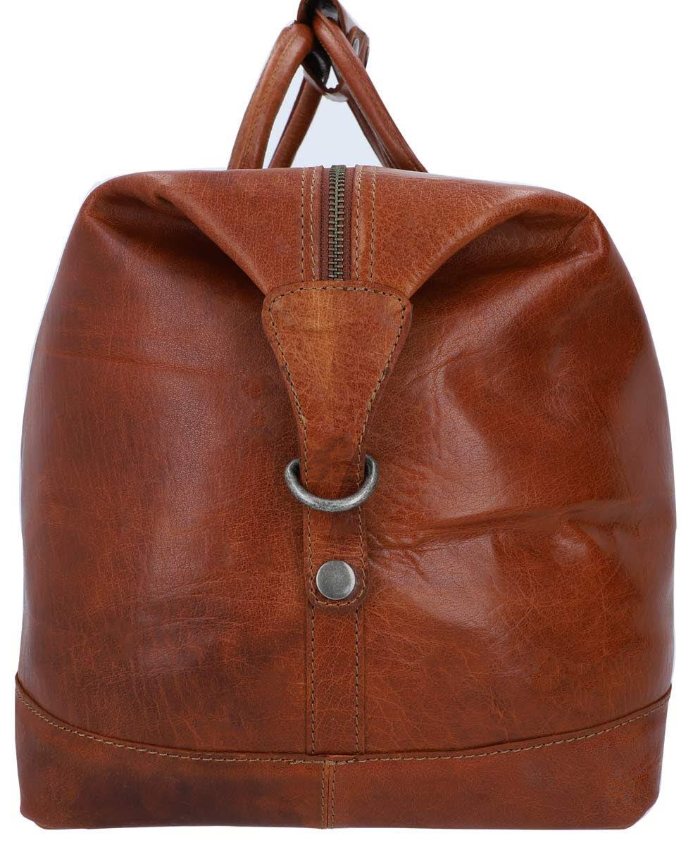 Outlet Reisetasche – kleinere Lederfehler – Verfärbungen - faltiges Leder – ansonsten neu – Siehe Vi