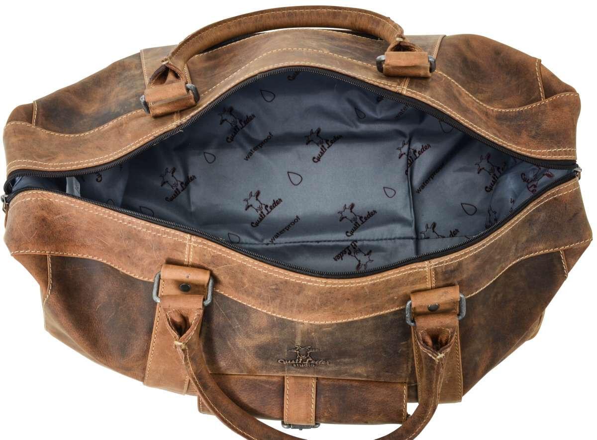 Outlet Reisetasche – Altes Logo – kleinere Lederfehler – ansonsten neu – Siehe Video