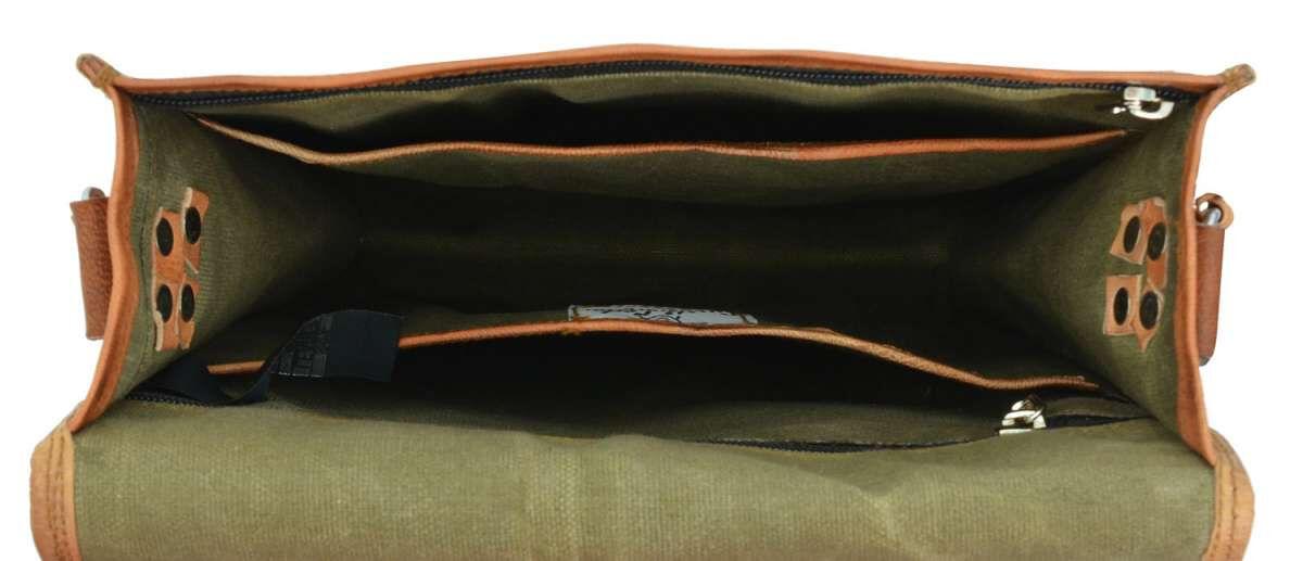 Outlet Umhängetasche - kleinere Lederfehler - andere Leder Farbe - ansonsten neu – siehe Video