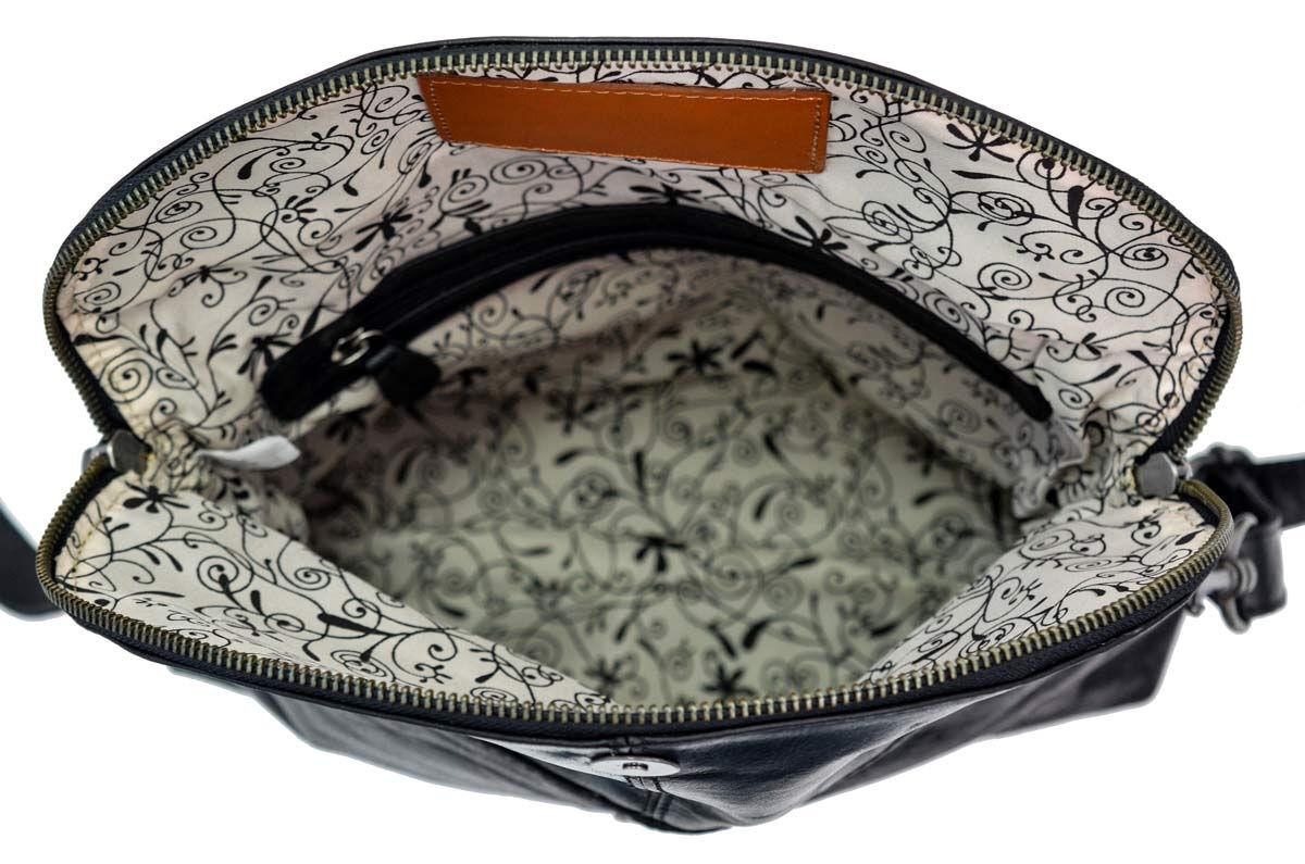 Outlet Handtasche - faltiges Leder – ansonsten neu - siehe Video