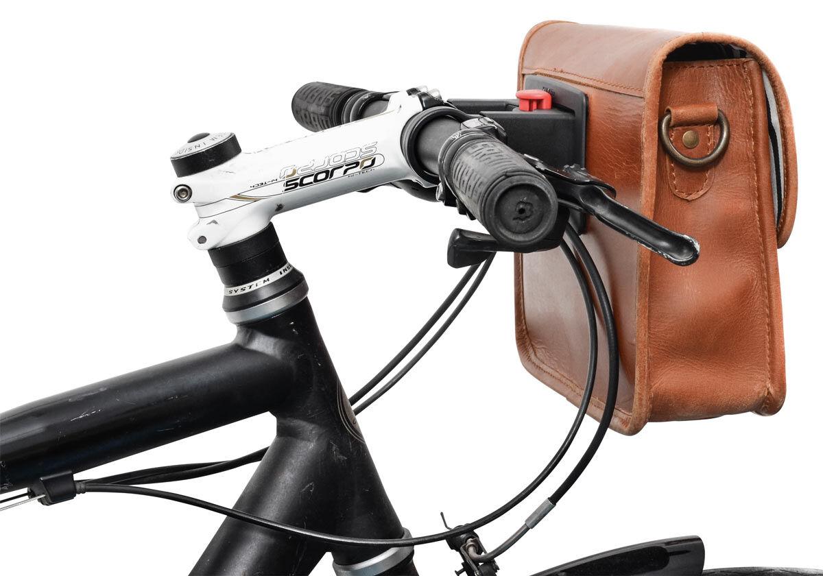 Outlet Fahrradsattel – Verfärbungen – kleinere Lederfehler - kleine Farbunterschiede im Leder - ande