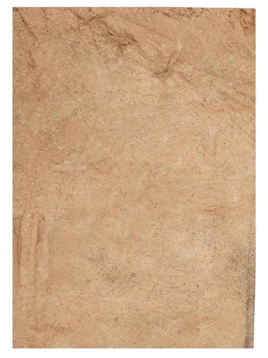Læderstykke af gedeskind brun