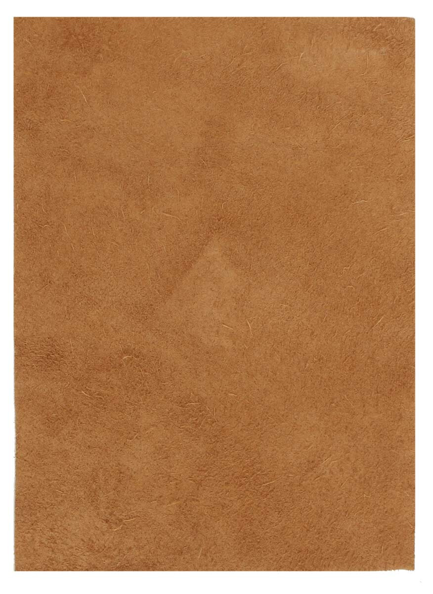 Lærstykke a5 brun