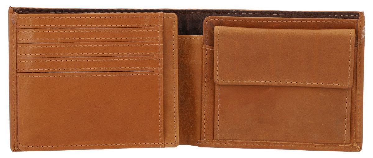 Outlet Geldbörse – kleinere Lederfehler – Klebereste - leichte Verfärbung – ansonsten neu – Siehe Vi