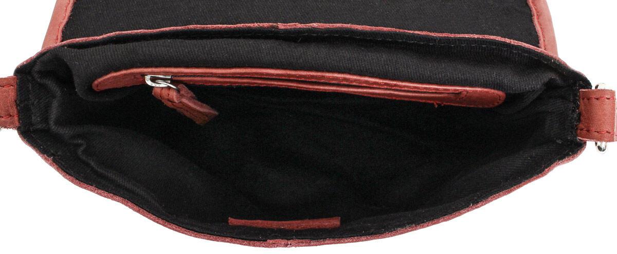 Outlet Handtasche - leichte Verfärbung - faltiges Leder - ansonsten neu - siehe Video
