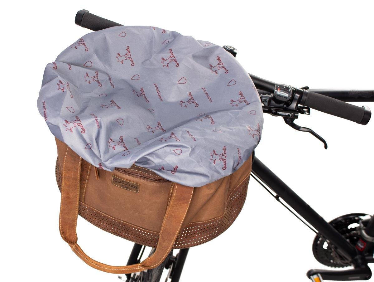 Outlet Fahrradtasche – kleinere Lederfehler – Verfärbungen – ansonsten neu – Siehe Video