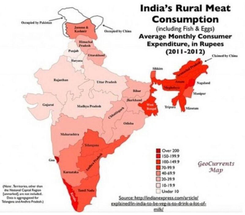 fleisch konsum_indien