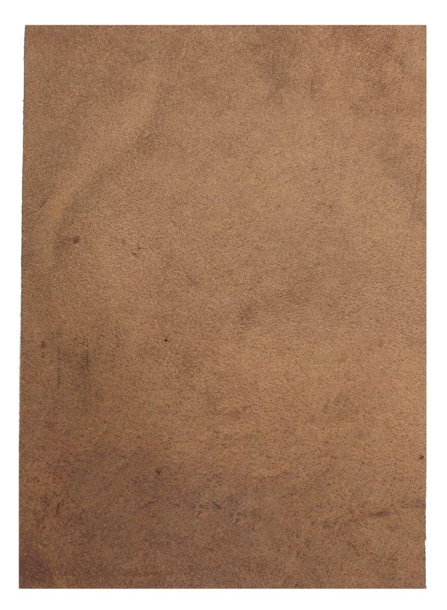 Pieza de cuero A5 marrón oscuro