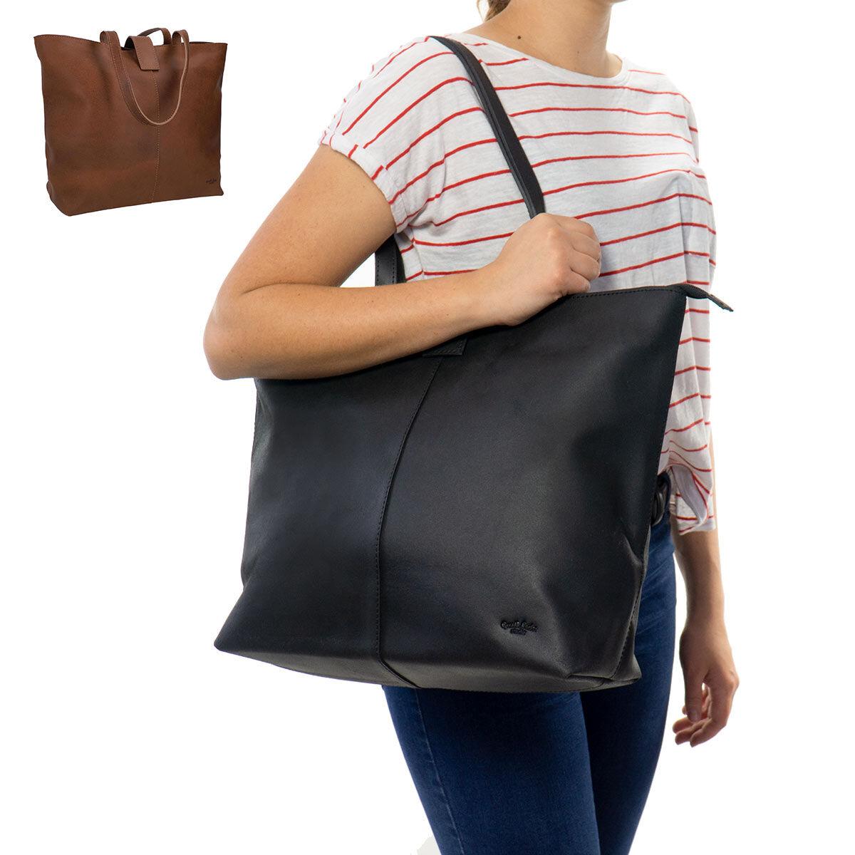 Outlet Handtasche – kleinere Lederfehler - fehlerhaftes Design - ansonsten neu – Siehe Video