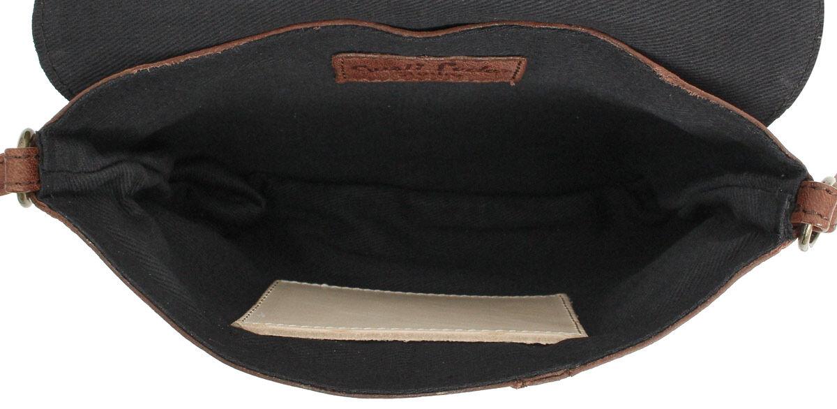 Outlet Umhängetasche - kleine Farbunterschiede im Leder - faltiges Leder - ansonsten neu - siehe Vid