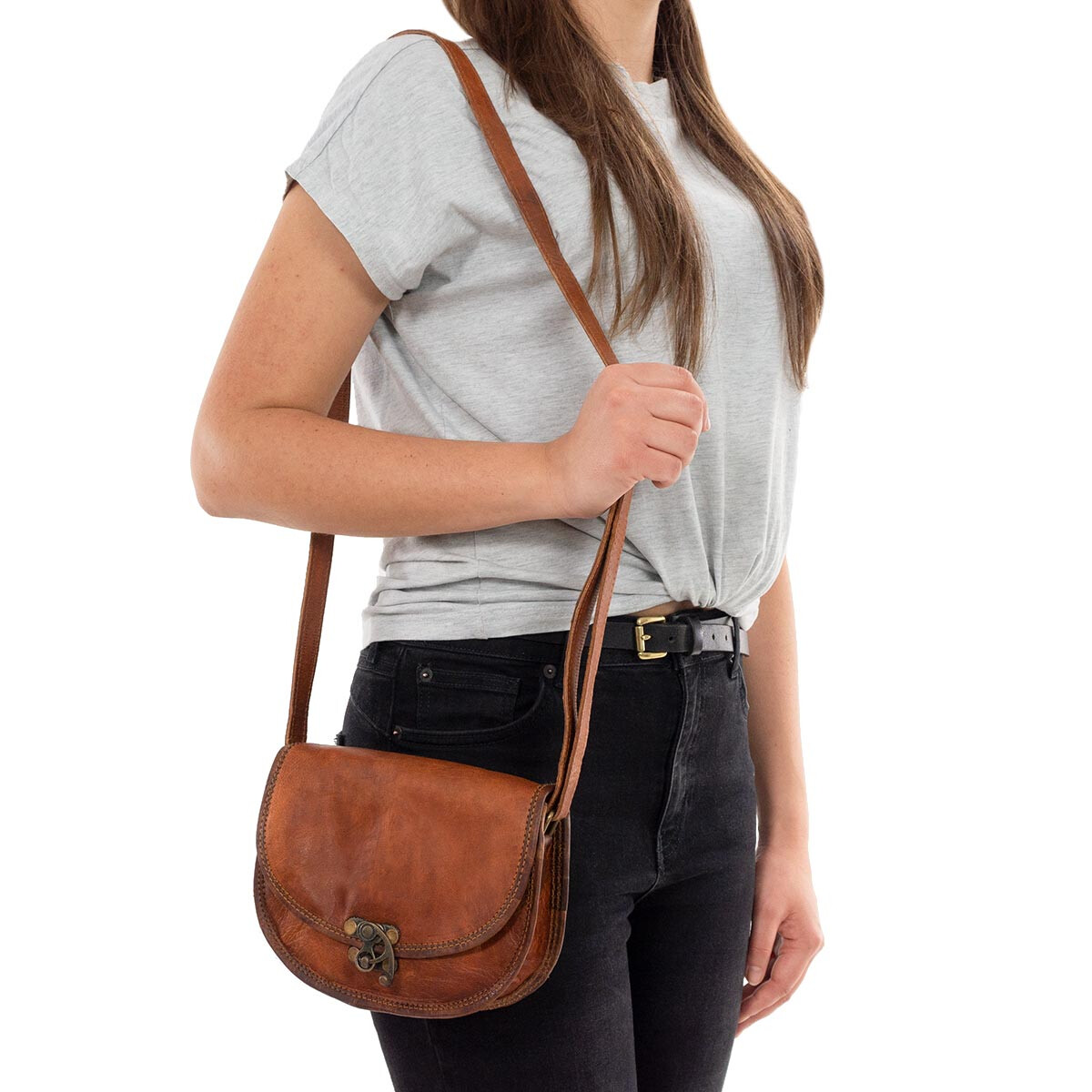 Outlet Handtasche - kleinere Lederfehler - ansonsten neu – Siehe Video