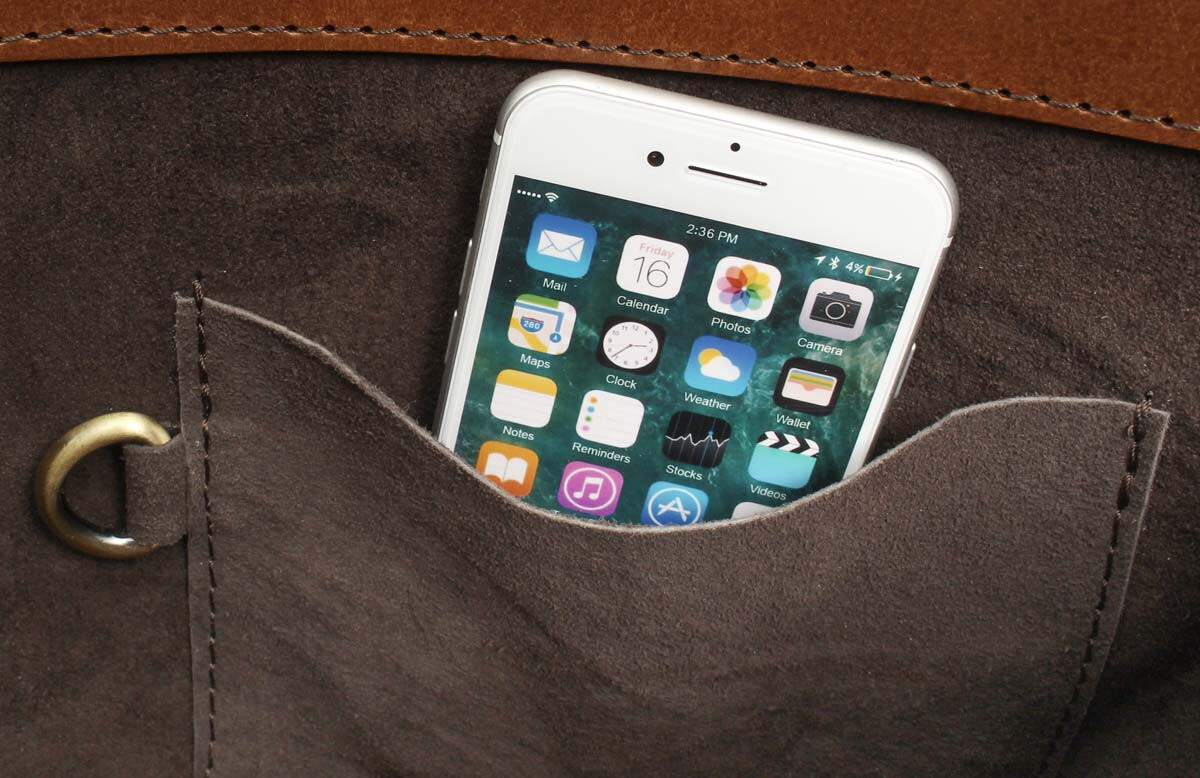 Outlet Umhängetasche - kleinere Lederfehler - kleine Farbunterschiede im Leder - ansonsten neu – sie