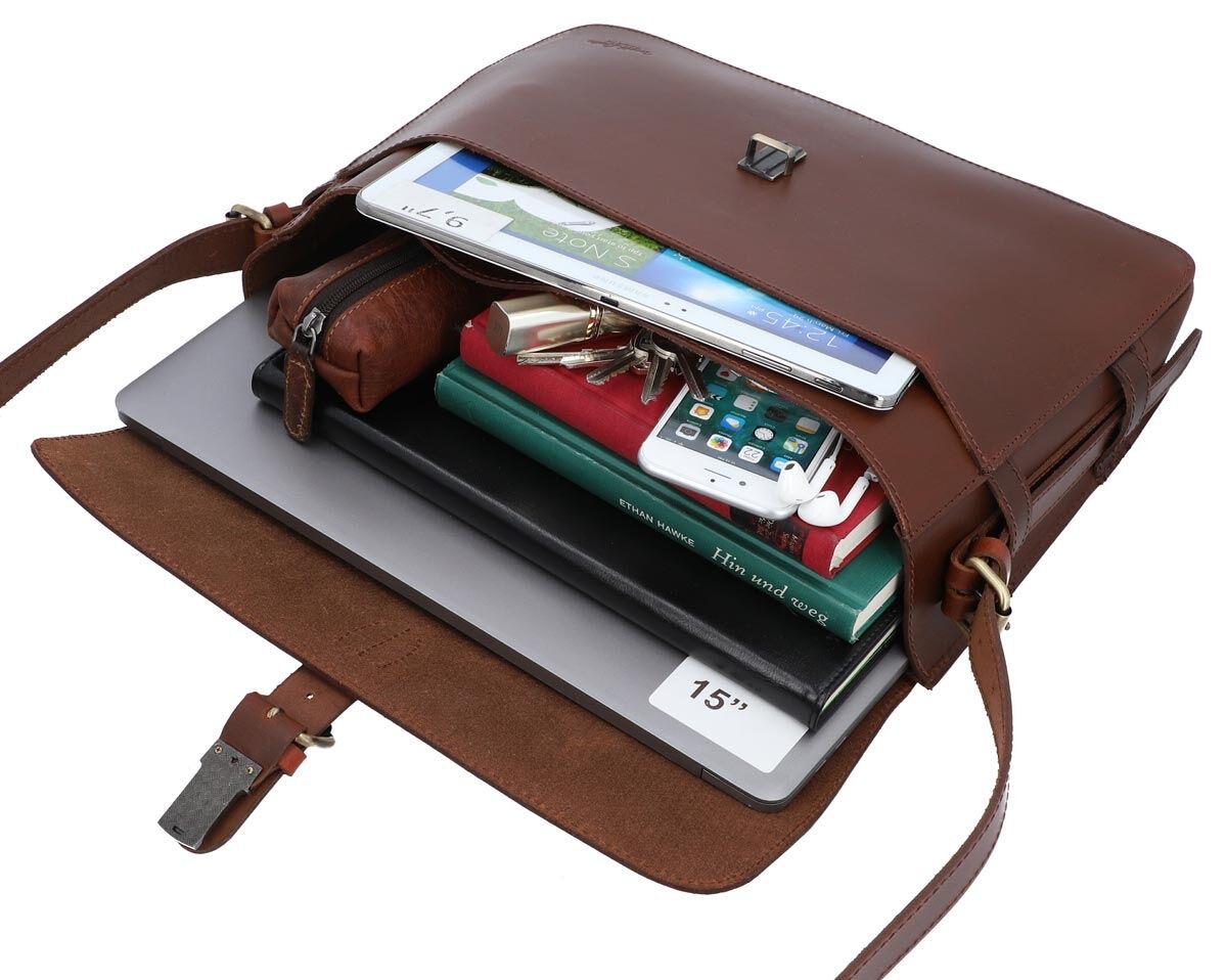 Outlet Handtasche - defekte Nähte - fehlender Verschluss - kleiner Lederfehler - ansonsten neu - sie
