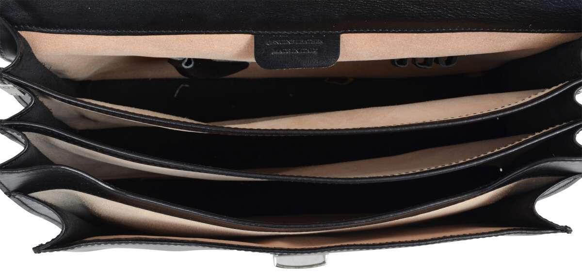 Outlet Businesstasche - fehlerhaftes Design - kleiner Lederfehler - ansonsten neu - siehe Video