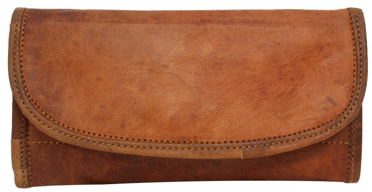 Outlet Portemonnaie - kleiner Lederfehler - kleine Farbunterschiede im Leder - ansonsten neu - siehe
