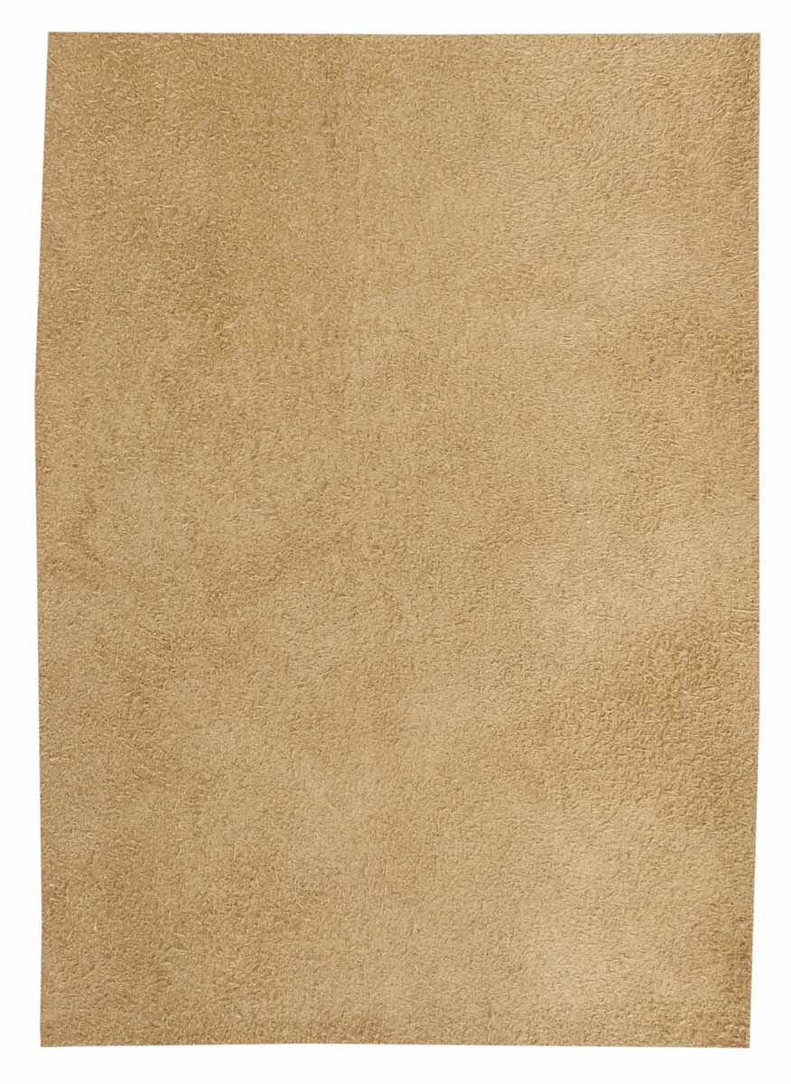 Brown Leather Piece Cow Hide 100% Natural