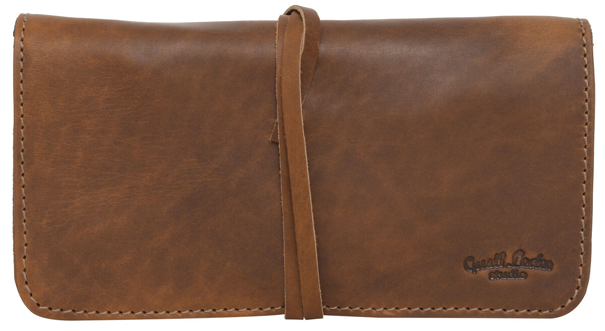 Outlet Federmappe - anderer Hauttyp/ anderes Leder - Altes Logo - kleinere Lederfehler - ansonsten