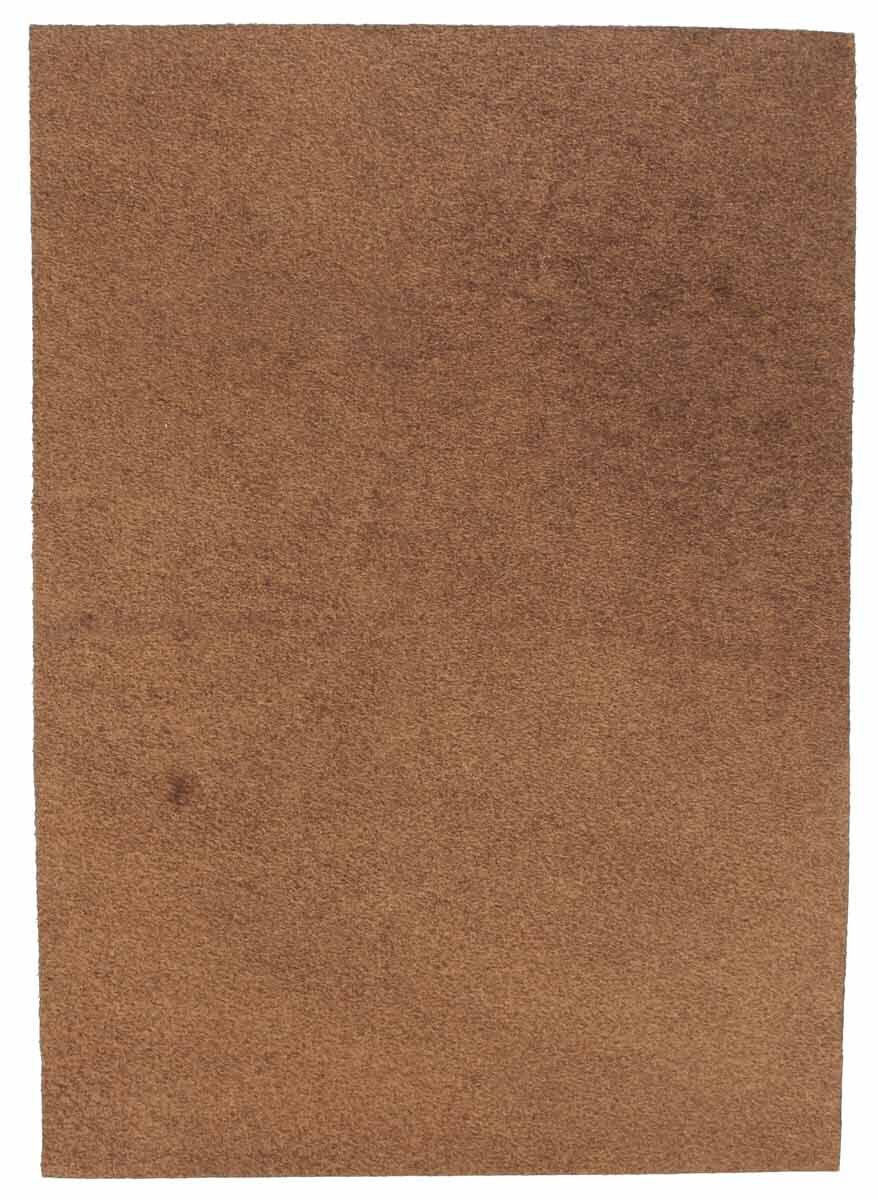 Pedazo de cuero de búfalo marrón A5