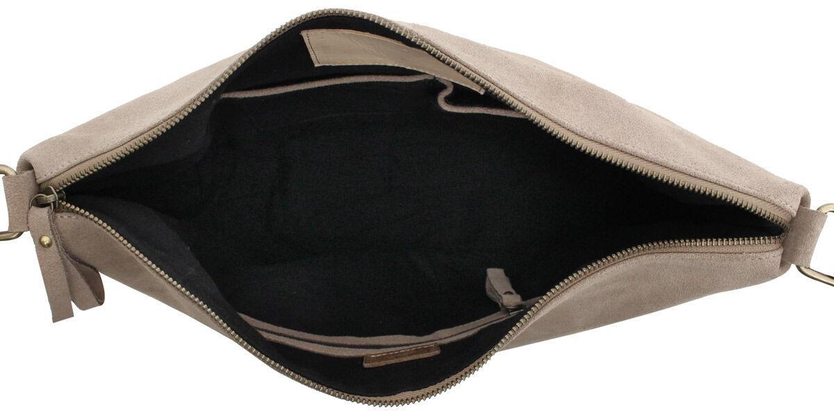 Outlet Umhängetasche - kleine Farbunterschiede im Leder - ansonsten neu - siehe Video
