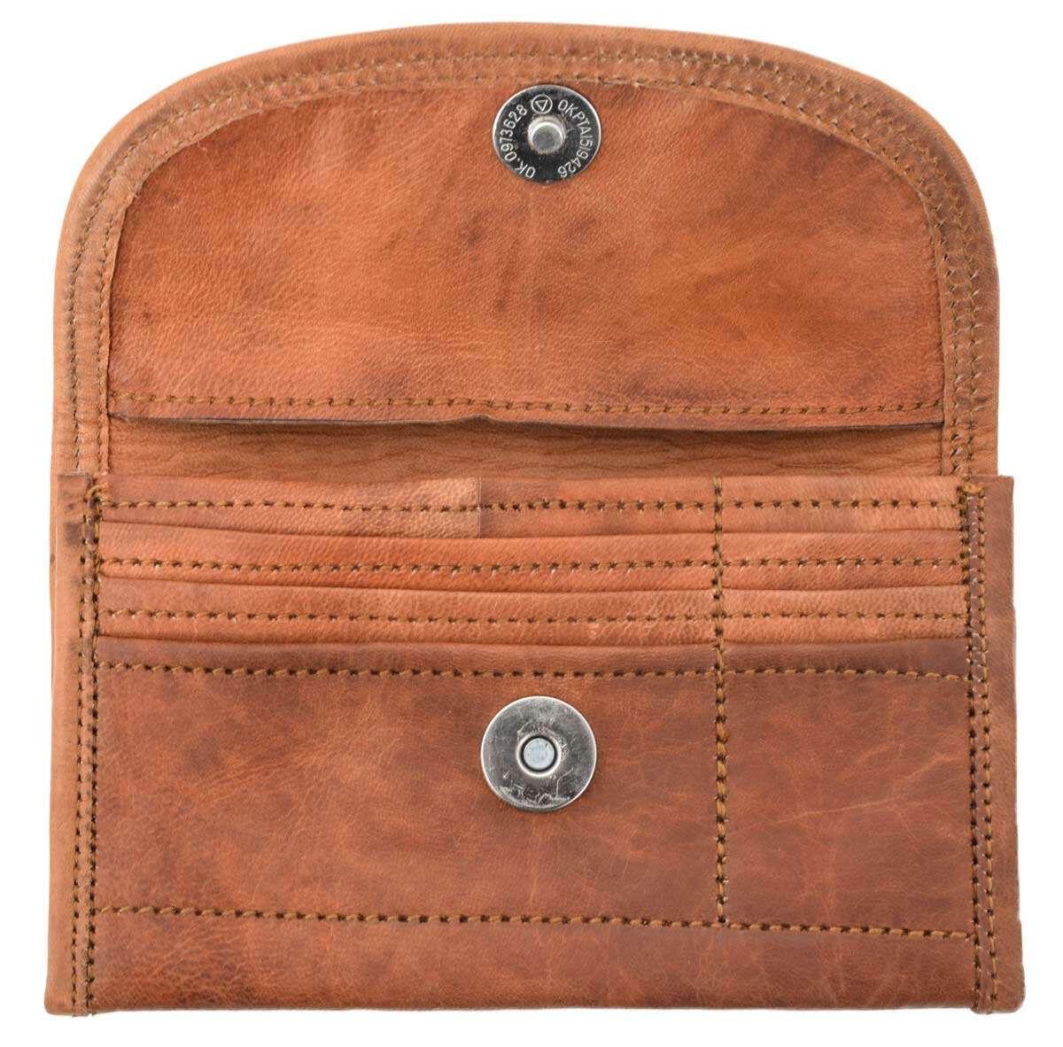 Outlet Portemonnaie - faltiges Leder - ansonsten neu - siehe Video