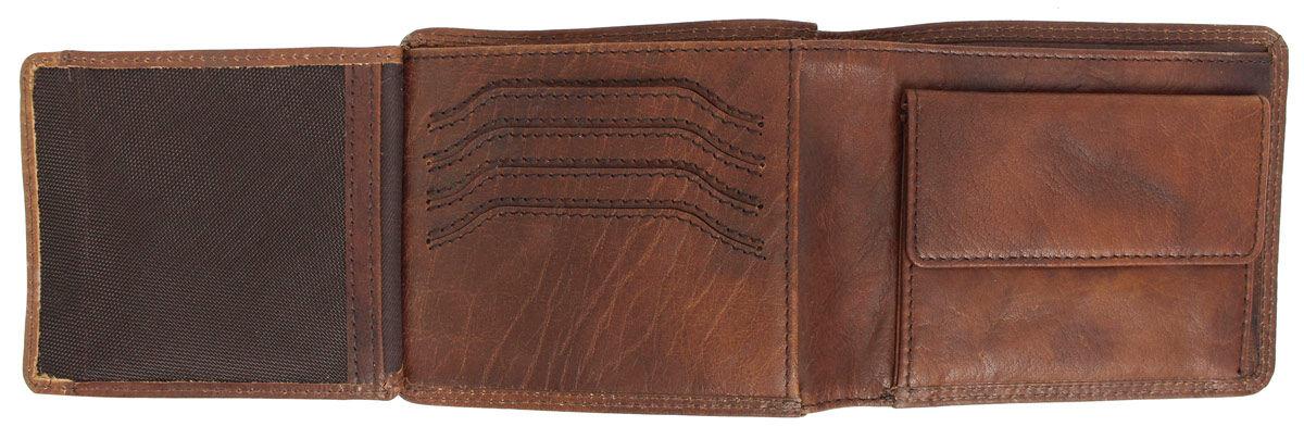 Bodenschatz Portemonnaie Männer braun