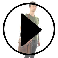 Outlet Fahradtasche – Lederfehler - ansonsten neu - siehe Video