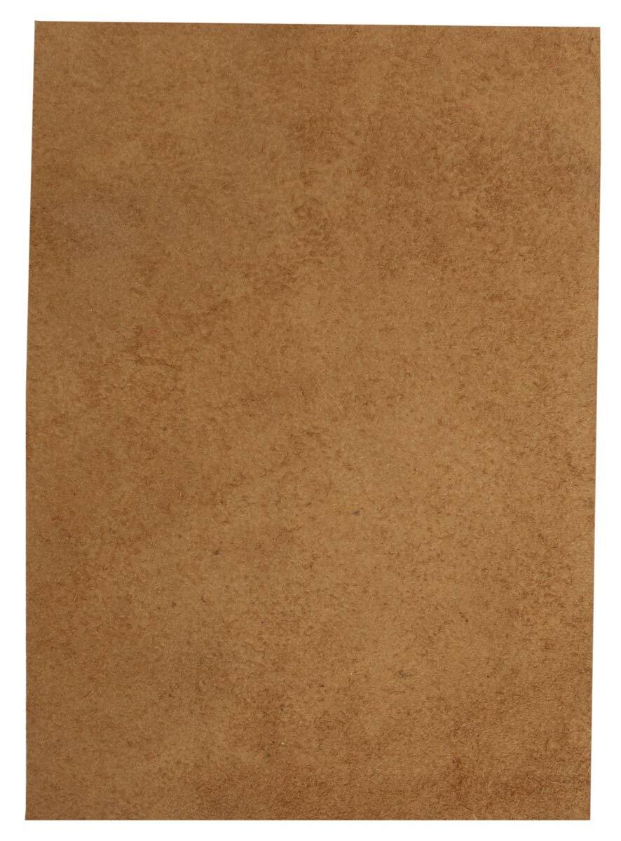 Pedazo de cuero de vaca marrón A5