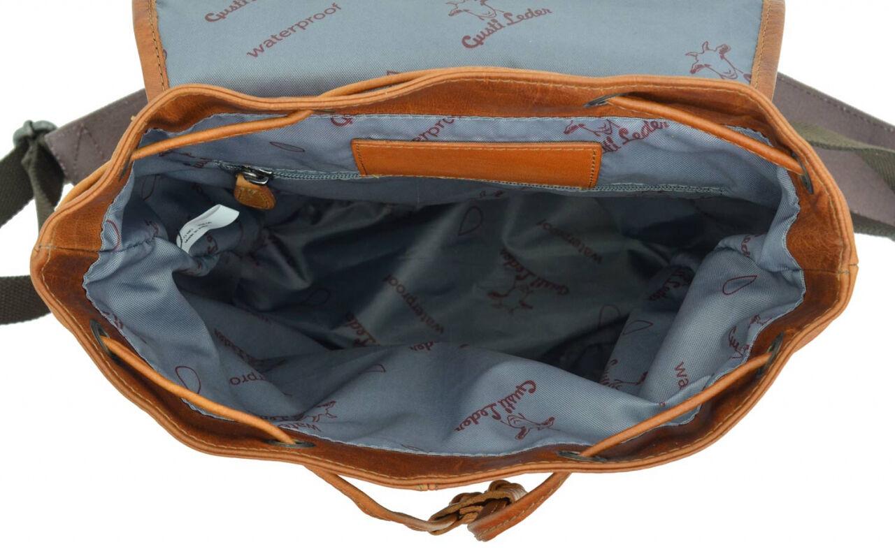 Outlet Rucksack - anderer Hauttyp - Altes Logo - kleinere Lederfehler – ansonsten neu – Siehe Video