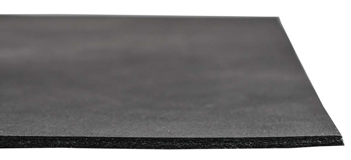 Mats læderstykke af bøffellæder sort