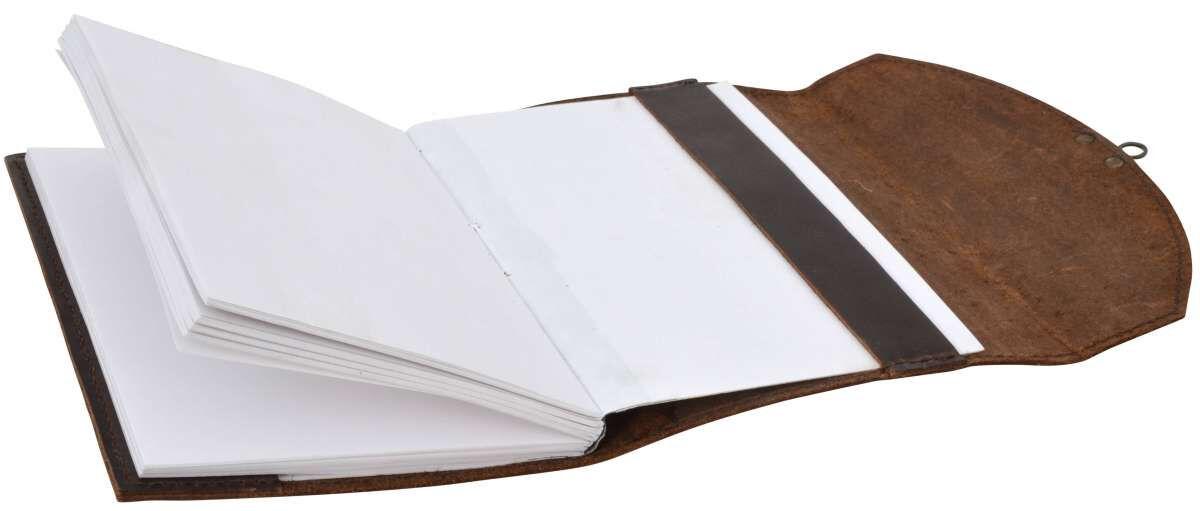 Outlet Notizbuch – kleinere Lederfehler – ansonsten neu – Siehe Video